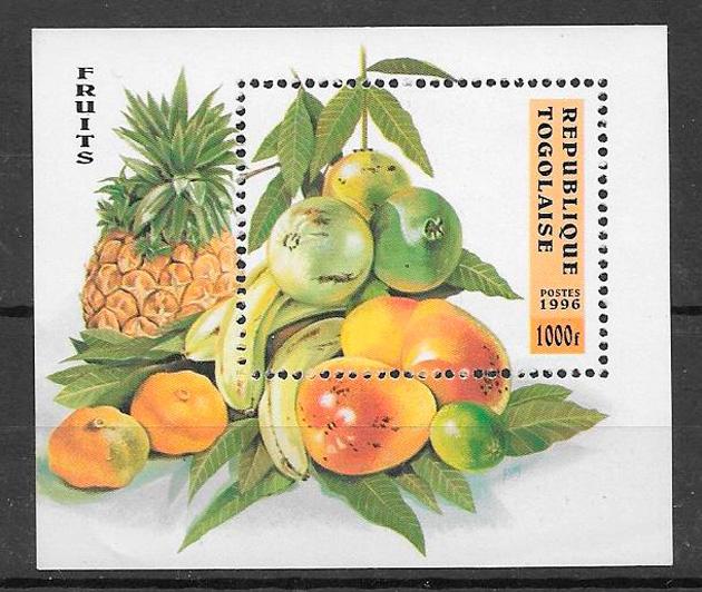 sellos frutas Togo 1997
