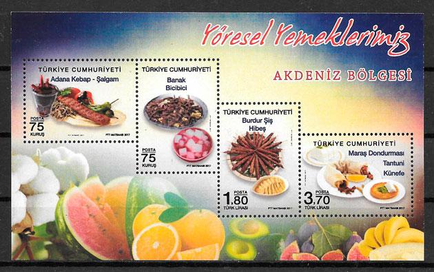 selos frutas Turquia 2017