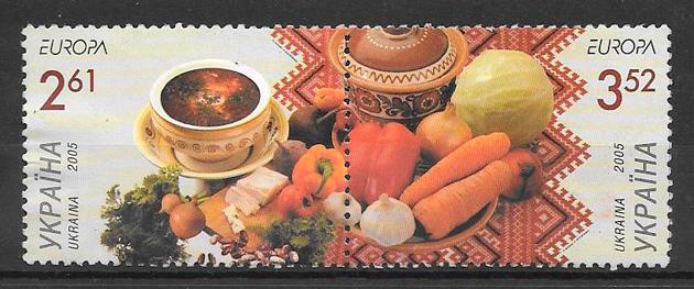 sellos frutas Ucrania 2005