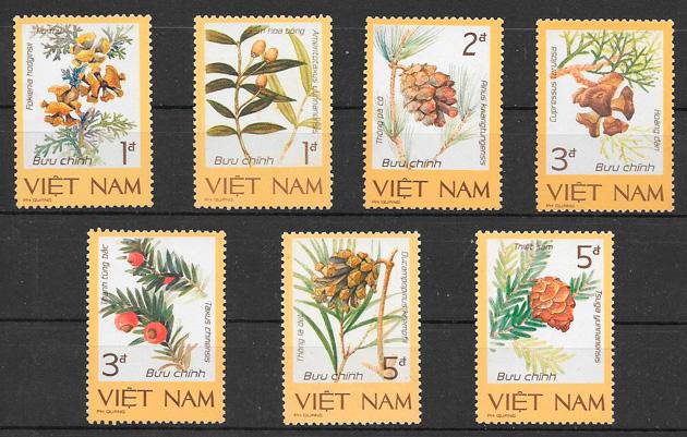 sellos futas Viet Nam 1986