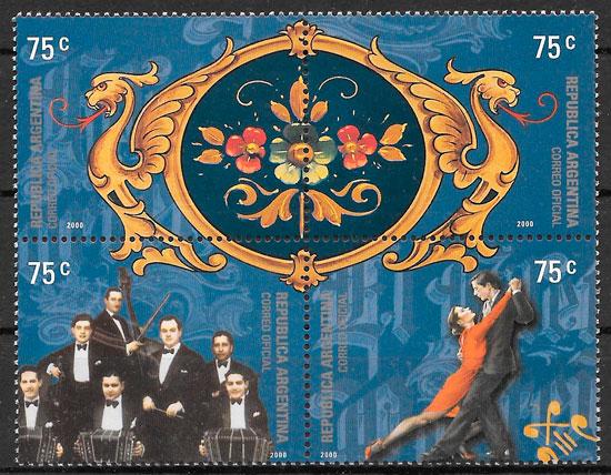 sellos arte Argentina 2000