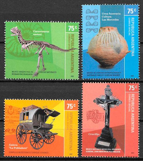 sellos arte Argentina 2001