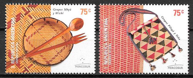 sellos arte Argentina 2003