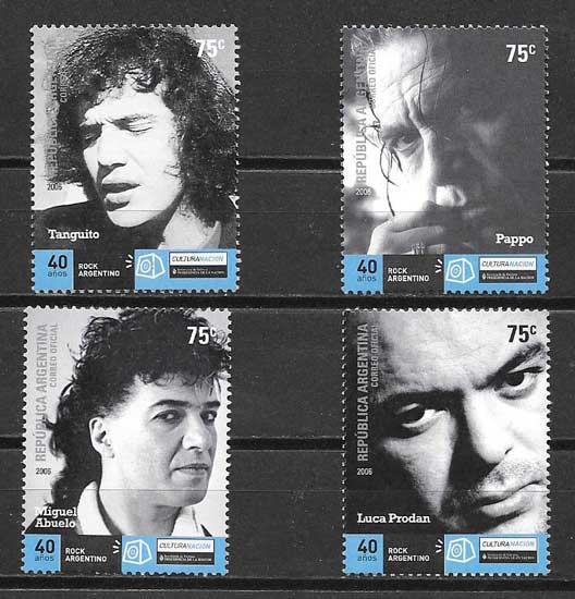 colección sellos Argentina Arte 2006