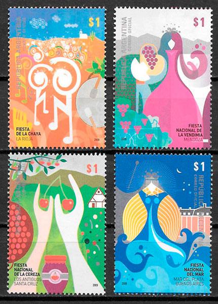 sellos arte Argentina 2008