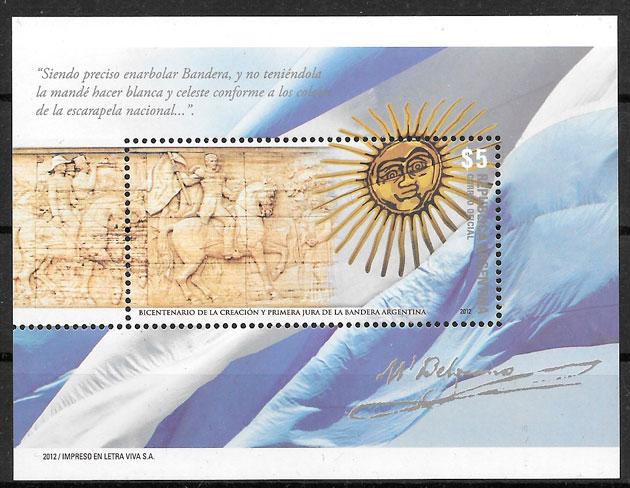 sellos arte Argentina 2012