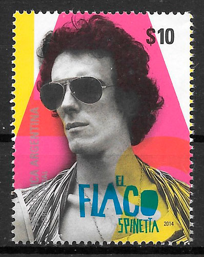 colección sellos arte Argentina 2014