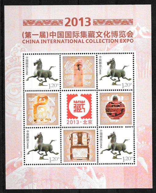 sellos turismo China 2013
