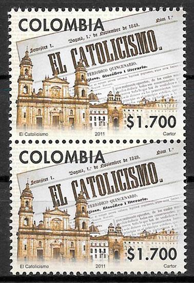 sellos arte Colombia 2011