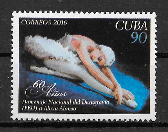 sellos arte Cuba 2016