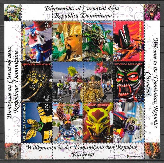 filatelia arte Dominicana 2012