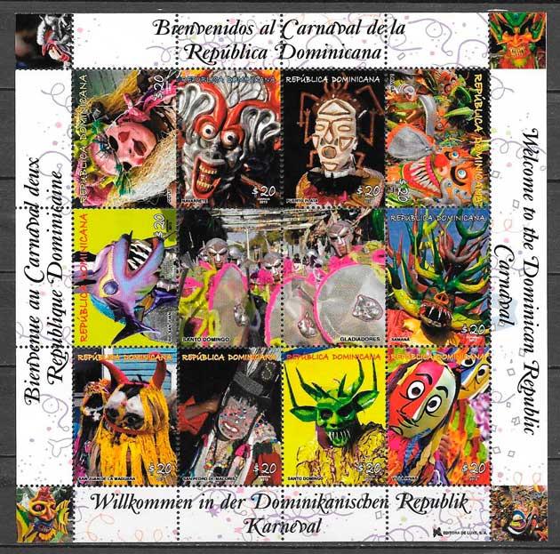 filatelia colección arte Dominicana