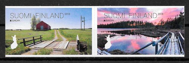 sellos Finlandia Europa 2018