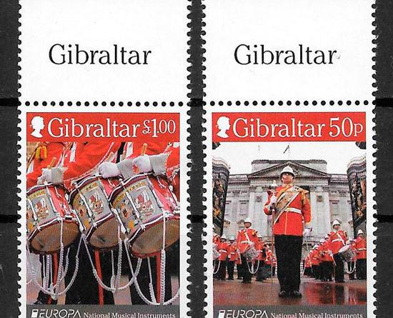 filatelia Europa Gibraltar 2014