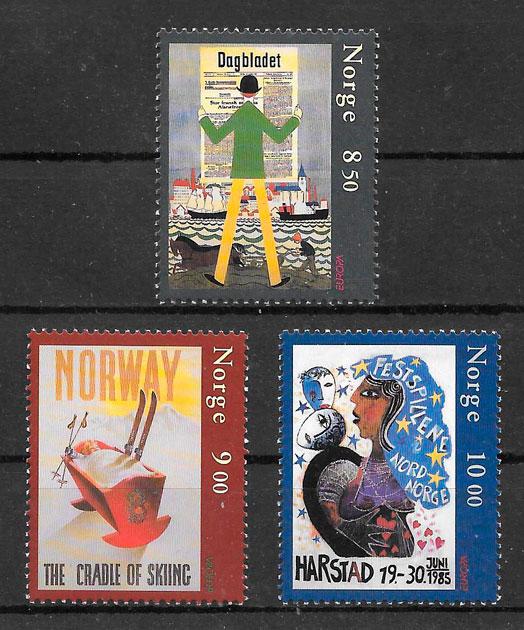 filatelia Europa Noruega 2003