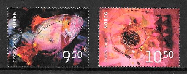 sellos Europa Noruega 2005
