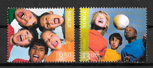 colección sellos Europa Noruega 2006