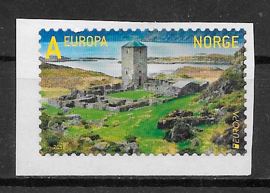 sellos Europa Noruega 2012