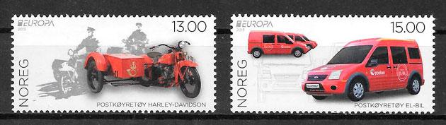 filatelia colección Europa Noruega 2013