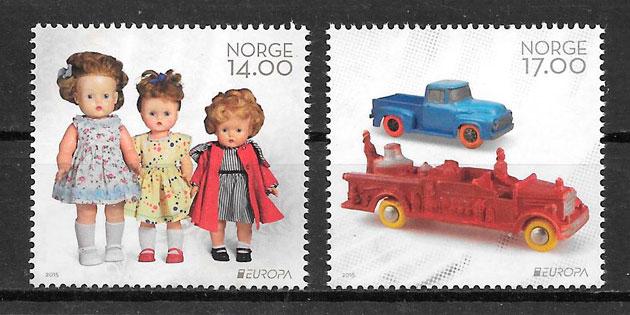 sellos Europa Noruega 2015