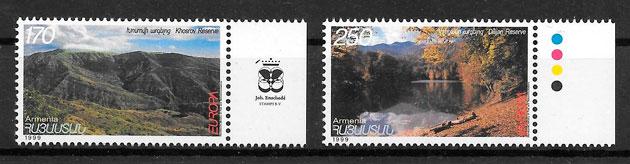 sellos Europa Armenia 1999