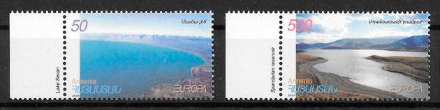 filatelia Europa 2001 Armenia