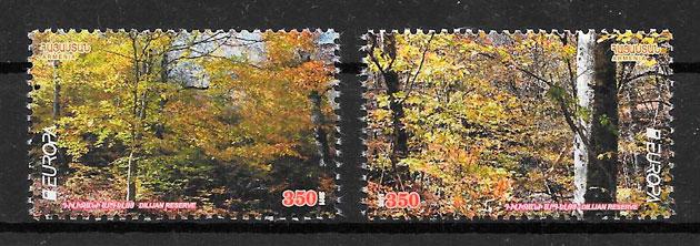 colección sellos Europa Armenia 2011