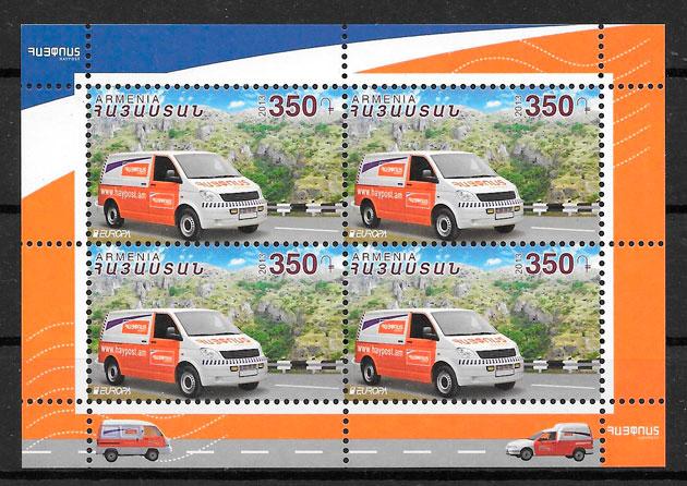 sellos Europa Armenia 2013