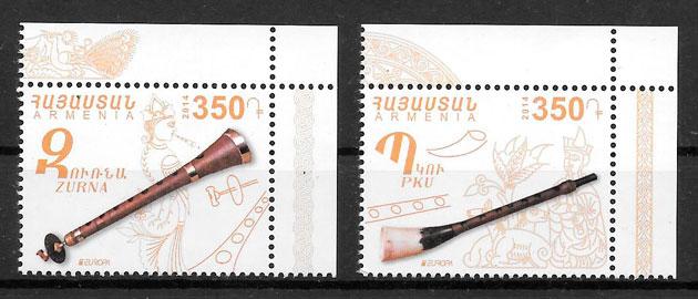 sellos Europa Armenia 2014