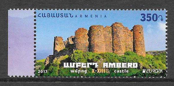 filatelia Europa Armenia 2017