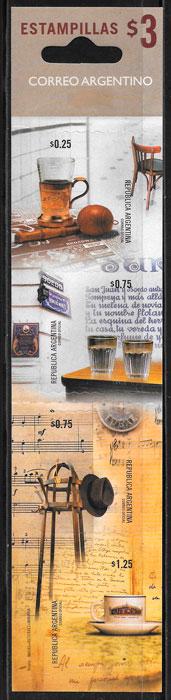 sellos frutas Argentina 1999
