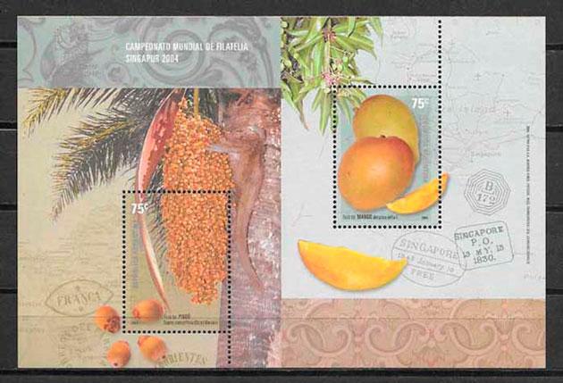 sellos frutas Argentina 2004