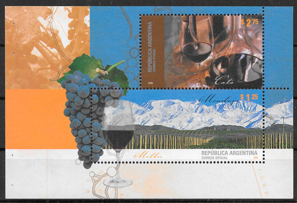 sellos frutas Argentina 2006