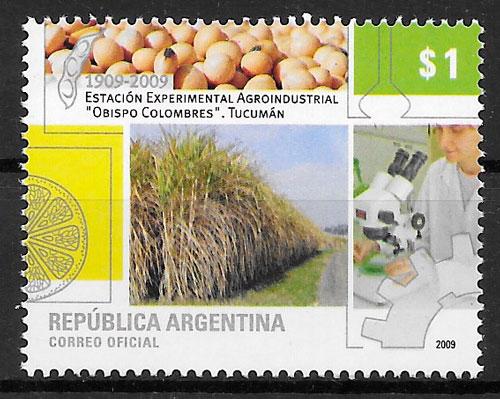 sellos frutas Argentina 2009