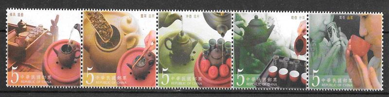 filatelia frutas Formosa 2005