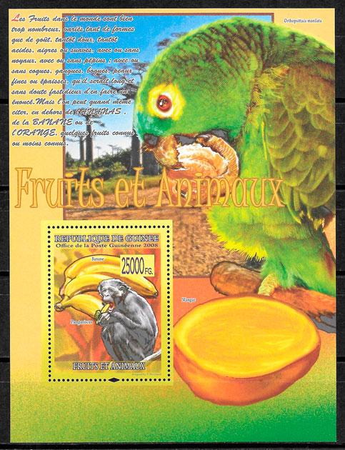 sellos frutas Guinea 2008