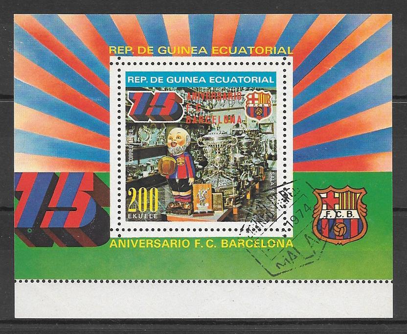 sellos fútbol Guinea Ecuatorial