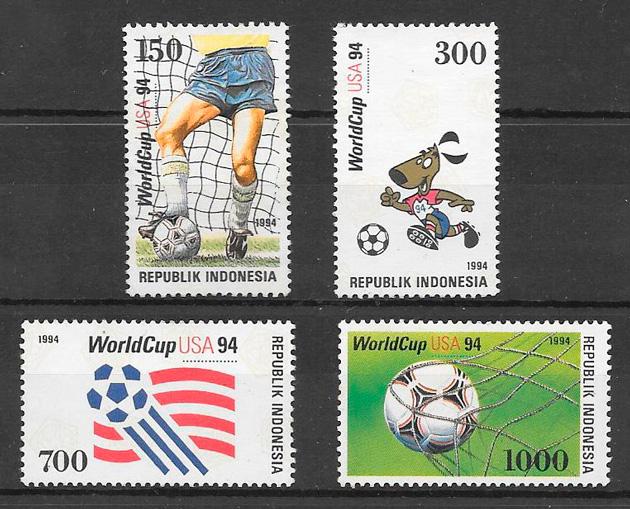 sellos fútbol Indonesia 1994