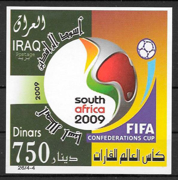 sellos fútbol Iraq 2009