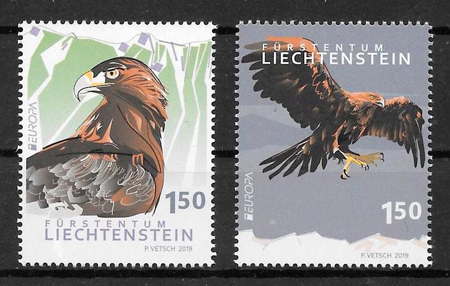 filatelia Europa Liechtenstein 2019