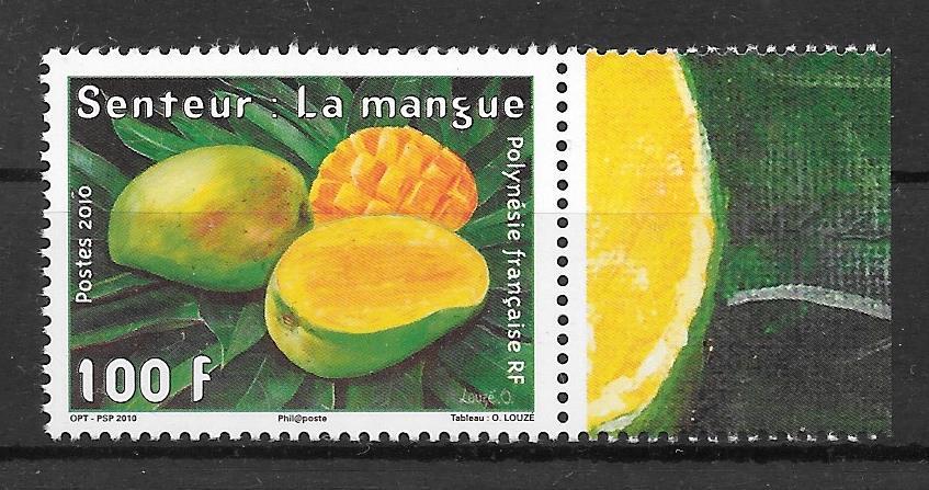sellos frutas Polinesia 2010