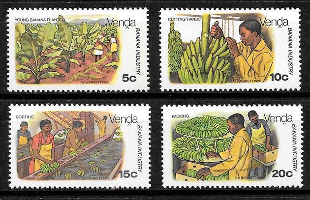 sellos frutas Venda 1980