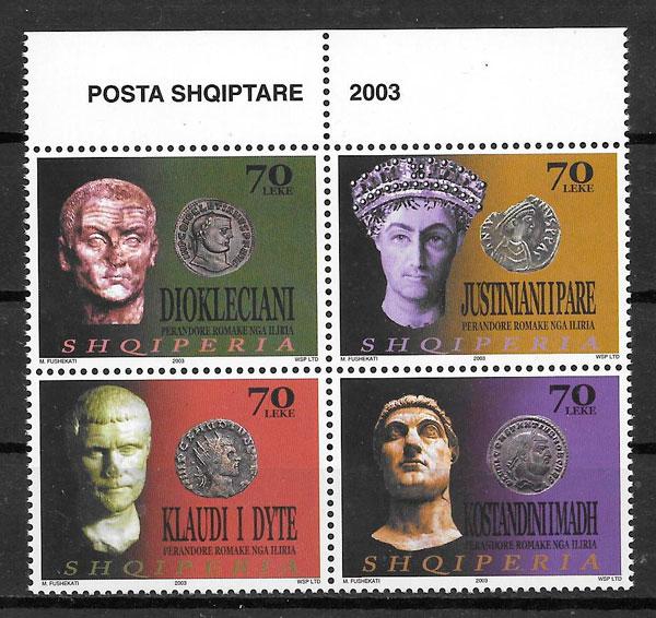 filatelia temas varios Albania 2003
