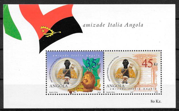 filatelia colección temas varios Angola 2002