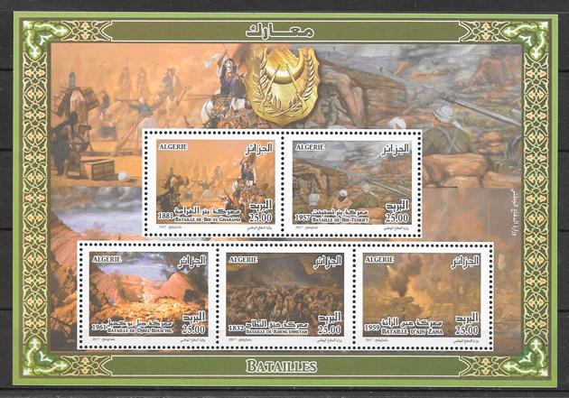 sellos temas varios Argelia 2017