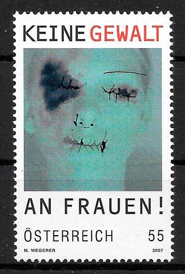 filatelia colección temas varios Austria 2007
