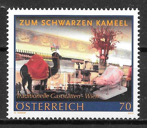 sellos temas varios Austria 2014