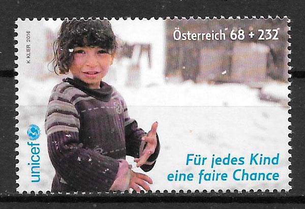 sellos temas varios Austria 2016