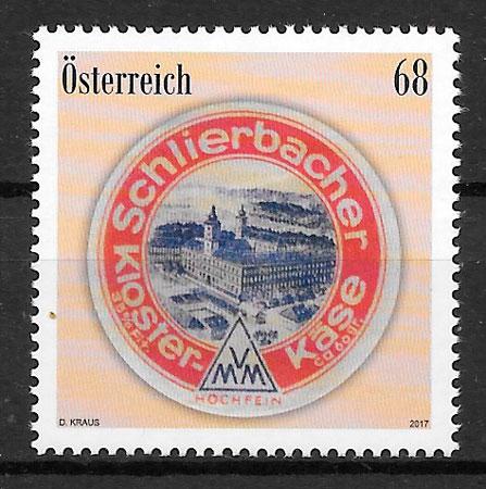 selos temas varios Austria 2017