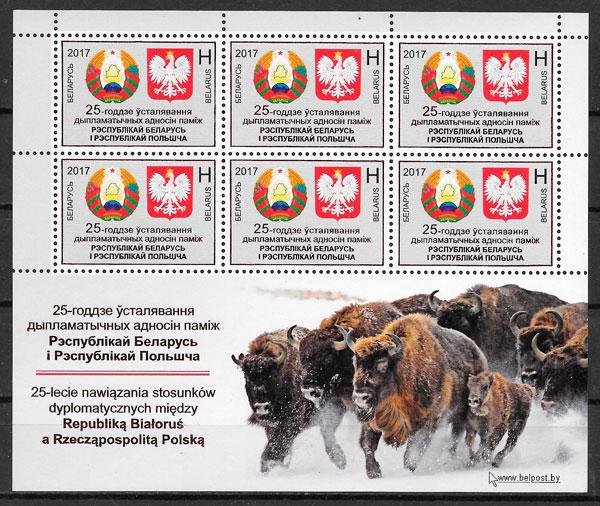 sellos temas varios Bielorrusia 2017